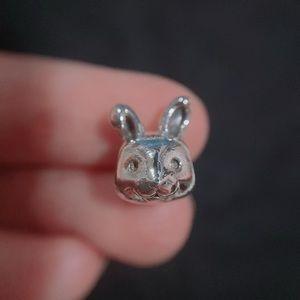 Retired Pandora Spring Rabbit Charm